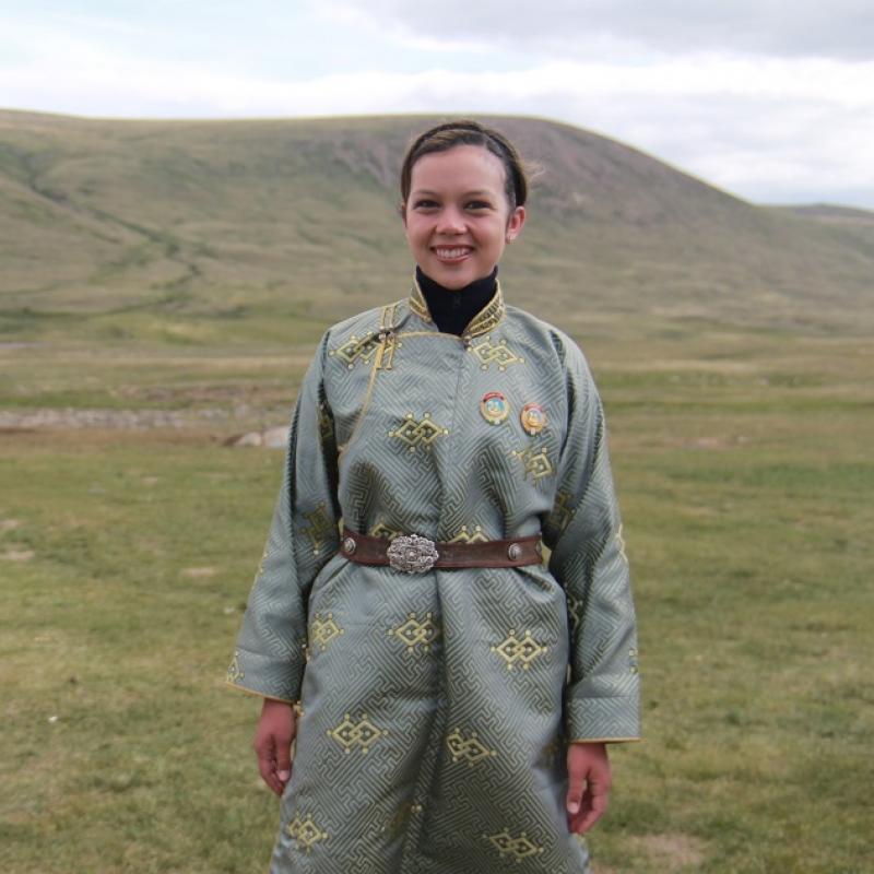 Natasa B in Mongolia